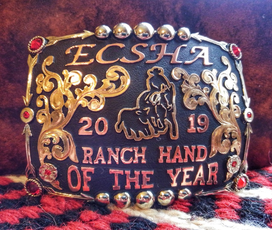 Ranch hand buckle